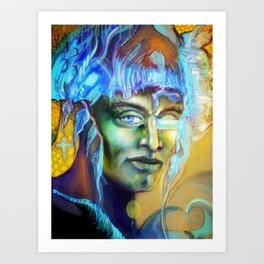 Meta Art Print
