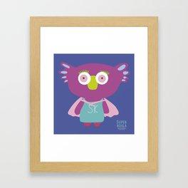 """""""Super Koala"""" Framed Art Print"""