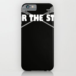 Lacrosse Fear the Stick iPhone Case