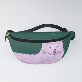 Smiling Dog IV Fanny Pack