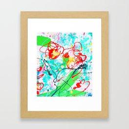 CELEBRATE MOTHER Framed Art Print