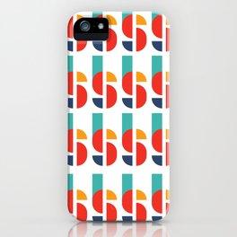 Bauhaus Kandinsky Geometry Typeface iPhone Case