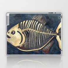 Skele-piranha Laptop & iPad Skin