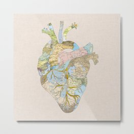 A Traveler's Heart (N.T) Metal Print