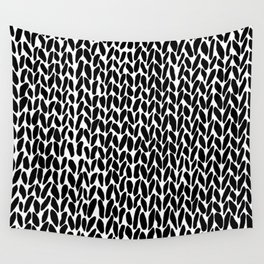 Hand Knit Zoom Wall Tapestry