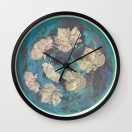 The world turns Wall Clock