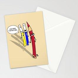 I Giottini - Quella matita se la tira... Stationery Cards