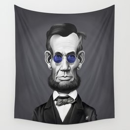 Abraham Lincoln (Steampunk) Wall Tapestry
