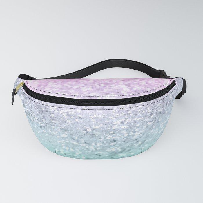 Mermaid Girls Glitter #1 (2019 Pastel Version) #shiny #decor #art #society6 Fanny Pack