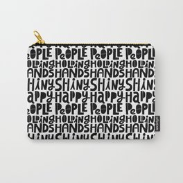 shiny happy people x typography Carry-All Pouch