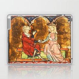 Arthur Legend 2 Lancelot and Guenevere Laptop & iPad Skin