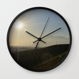 Valley of the Smokes Wall Clock