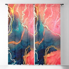 Rose Water Blackout Curtain