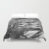 sneakers Duvet Covers featuring Sneakers by Fine2art