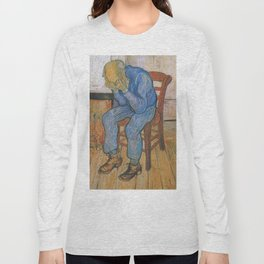 Vincent van Gogh - Sorrowing Old Man (At Eternity's Gate) Long Sleeve T-shirt