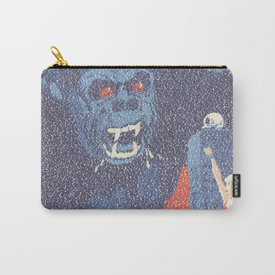 King Kong Script Print Carry-All Pouch