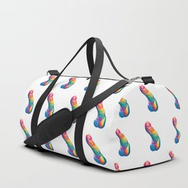 You can't say Happiness without Penis Duffle Bag