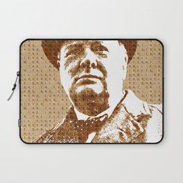 Scrabble Winston Churchill Laptop Sleeve