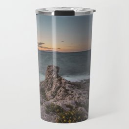 Long exposure seascape Travel Mug