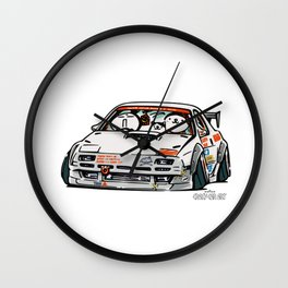 Crazy Car Art 0143 Wall Clock