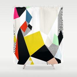 Flowerpot Shower Curtain