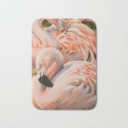 Chilean Flamingos Bath Mat