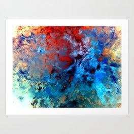 α Comae Berenices Art Print