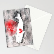 whale you be mine? Stationery Cards
