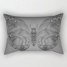 Butterfly skulls 4 Rectangular Pillow