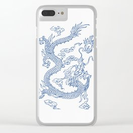 Chinese  Loong Clear iPhone Case