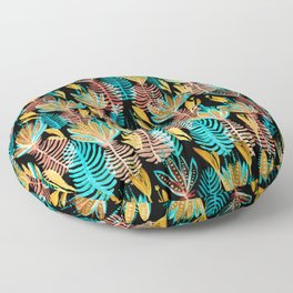 Powerful leaves Floor Pillow