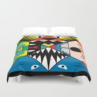 nightmare Duvet Covers featuring Nightmare by Ivan Solbes