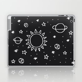Planets Hand Drawn Laptop & iPad Skin