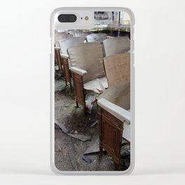 Best Seats in the House Clear iPhone Case