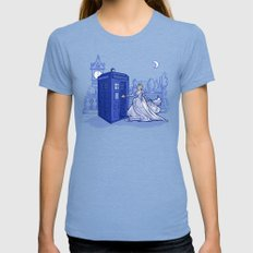 Come Away with Me Tri-Blue Womens Fitted Tee X-LARGE