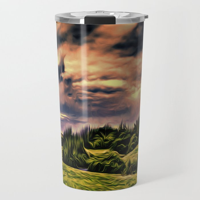 Rimrose Valley (Digital Art Painting) Travel Mug