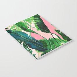 pink natural tropical Notebook