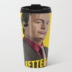 Better call Saul ! Metal Travel Mug