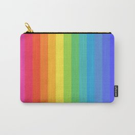 Solid Rainbow Carry-All Pouch