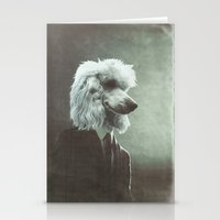poodle Stationery Cards featuring Poodle by womoomow