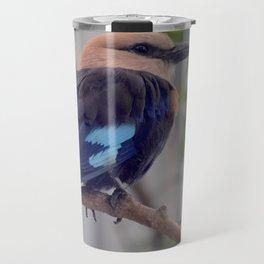 National Aviary - Pittsburgh - Blue Bellied Roller Travel Mug