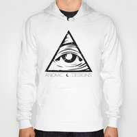 all seeing eye Hoodies featuring ALL SEEING EYE  by ANOMIC DESIGNS