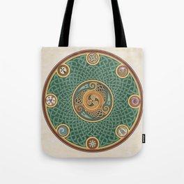 Celtic Knotwork Shield Tote Bag