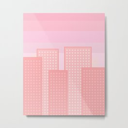 pretty city Metal Print