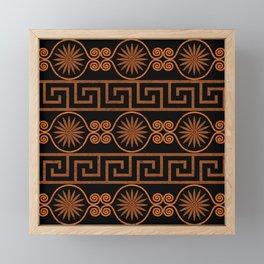 Ornate Greek Bands Framed Mini Art Print