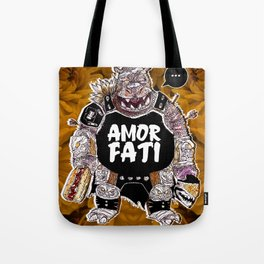 Armored Fatty Tote Bag