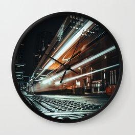 City Beams Wall Clock