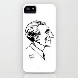 Maurice Ravel iPhone Case