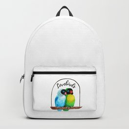 A Couple of Lovebirds Backpack