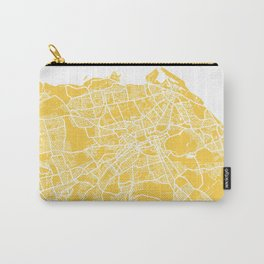 Edinburgh map yellow Carry-All Pouch